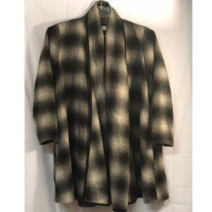 Saks Fifth Ave Threads Women's Wool Kimono Sz Med
